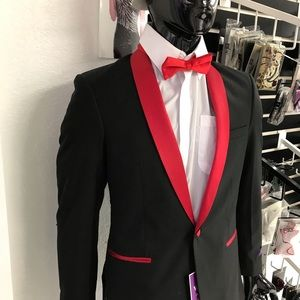 Other - Red and black Tuxedo set.